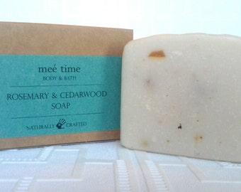 Rosemary and Cedarwood Handmade Soap