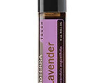 doTerra, Lavender Touch, Essential Oil Blend, 9mL, roll-on, Essential Oils, Travel Size, Therapeutic Oils,