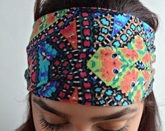 Yoga Headband, Running Headband, Fitness Headband, Wide headband