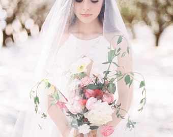 Floral Leaf Spray Bridal Headband #226HB