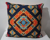 Navajo Pillow Case, Aztec Pillow Cover , Kilim Printed Pillow ,Tribal Pillow Case , Chevron Pillow Case