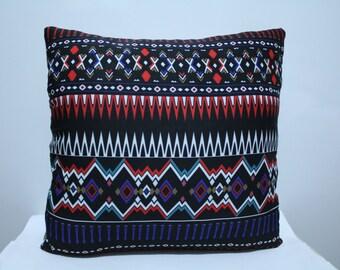 Tribal Pillow Case, Chevron Pillow Cover ,Colorful Pillow Case , Neon Pillow Case
