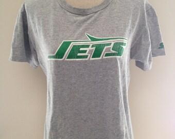 SALE! Vintage New York Jets Starter Tshirt