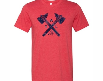 Braves Shirt. Atlanta Braves Inspired. ATL Shirt. Atlanta Braves Shirt
