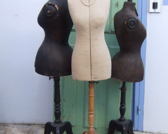 Antique Rare Adjustable French mannequin  early 1900s. Her name is Maud.
