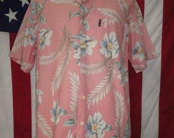 Ralph Lauren Polo Hawaiian shirt, mens Hawaiian shirt, Ralph Lauren shirt, 90's Hawaiian shirt, Ralph Lauren, Hawaiian shirt, Miami Vice