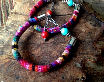 Bright and Bold Tribal Bracelet