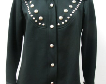 1970s Studded Glam Rock Shirt
