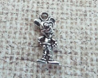 5 Pieces 3D Mickey Mouse Charms, Jewelry Supplies