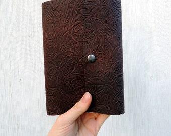 Lined Notebook or Sketchbook School Notebook Leather Notebook Journal