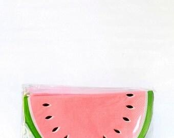 Watermelon Napkins - Meri Meri- Party Decor Supplies- Tableware- Weddings Birthday Bridal Shower- Fruit- Spring- Summer- Kids- Party