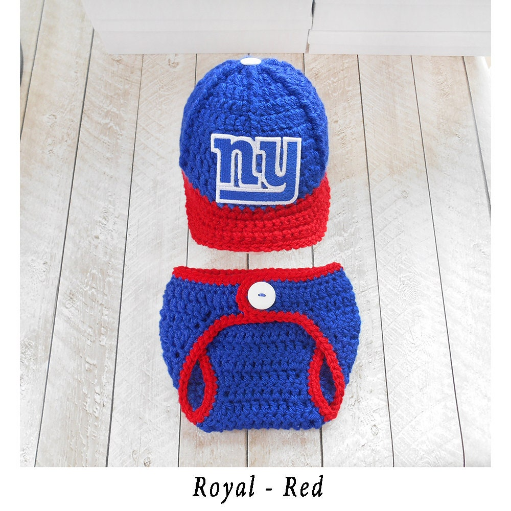 NY Giants Baby Hat New York Giants Baby Hat by ...