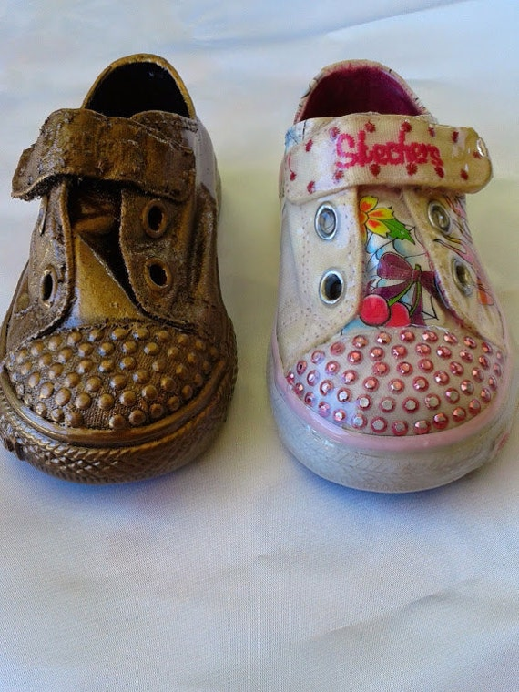 Alternative To Bronzing Baby Shoes