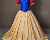 Snow White and the Seven Dwarfs Ball Gown Dress Cosplay Costume