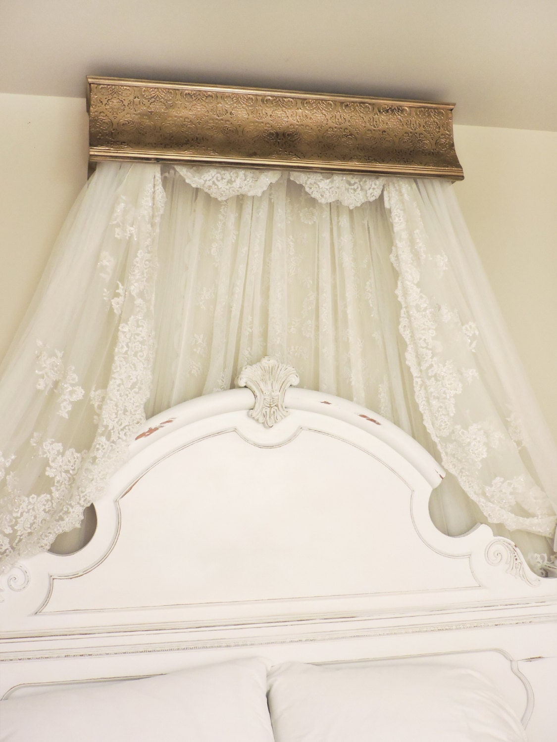 bed crown canopy crib crown canopy french old by
