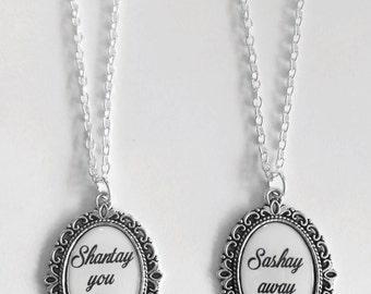 Shantay You Stay or Sashay Away Cameo Necklace