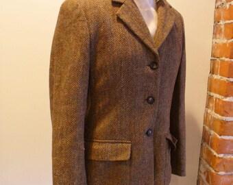 Vintage tweed jacket | Etsy