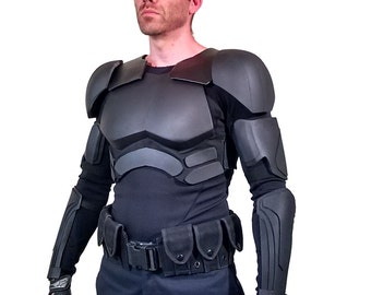 DIY Snake Eyes Foam Armor Tutorial Kit - Includes Patterns, Tutorial Videos, and Materials List