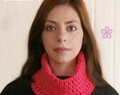 Mesh Cowl easy Crochet Pattern for beginners. Neck warmer / circle scarf PDF crochet pattern _ C28