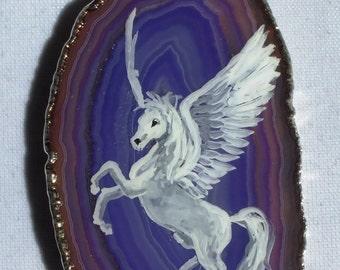 Pegasus Agate Pendant