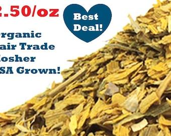 Organic GINKGO BILOBA Fall Gold - 1oz - grown in the U.S.A
