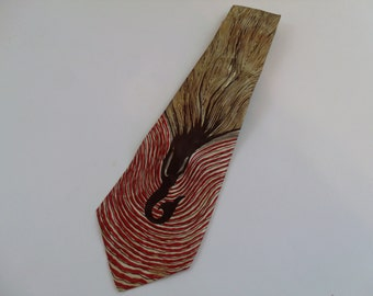 Vintage 60s Silk Tie