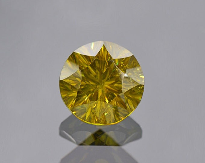 SALE EVENT! Green Sphalerite Gemstone from Bulgaria 4.48 cts.