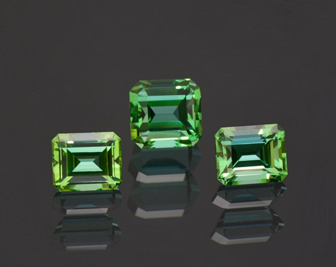 Superb Blue Green Tourmaline Gemstone Set from Afghanistan 8.54 tcw