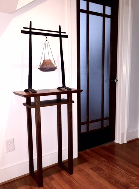 Foyer Table Tall : Tall narrow table for small entryway hall