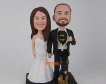 Batman cake topper wedding topper batman bobblehead Super Hero wedding cake topper bobble head Batman wedding Cake Toppers - CT BTM1A