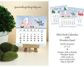 Sale Iten 2017 Desk Calendar,  2017 Calendar with Stand, 2017 Easel Desk Calendar, 2017 Monthly Calendar, Going Places