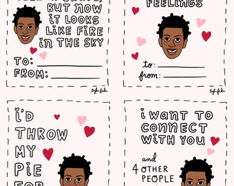 Orange Is the New Black Suzanne Valentine Cards - Printable File