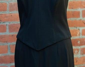Vintage Halter Dress,LBD,Size 6