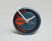 Wall or table, desk clock from recycled faulty retro portable Watson w...