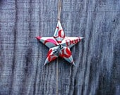 """Upcycled Diet Coke """"DAD"""" Soda Can Star Ornament"""