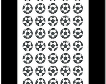 Soccer Balls || Stickers for Life Planner
