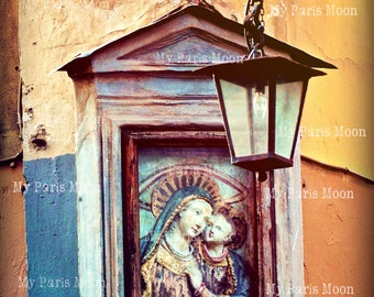 Religious Icon; Walk in Venice; Travel Photography; Italy; Digital Download