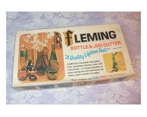 Vintage Bottle and Jug Cutter by Fleming in Original Box from 1970's