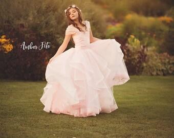 Addison Girls Couture Tutu • Full Circle Tutu Gown