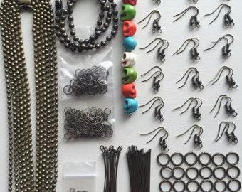 Sale- Destash- Jewelry Findings- Brass- 021