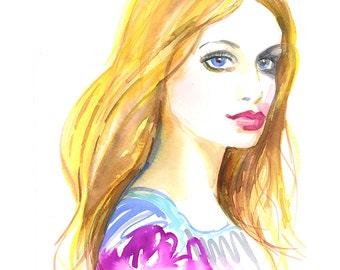 Liora Fashion Print