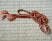 Vintage copper obijime, J...