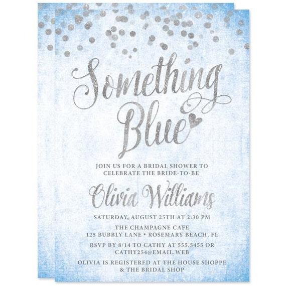 Something blue bridal shower invitations printed bridal shower il570xn filmwisefo