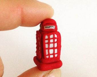 Miniature Telephone Booth