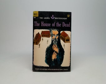 First Edition, thus The House of the Dead by Fyodor Dostoyevsky - Dell, 1969 Vintage Paperback Book