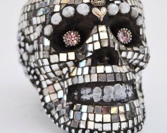 Dia de los Muertos Mirror skull