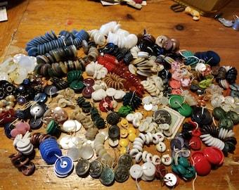 Antique Lot of Buttones 69 Sets