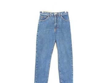 Calvin Klein Jeans - Vintage 90s High Waist Jeans - Vintage Preppy Calvins High Waist Jeans - Union Made Calvin Klein Jeans