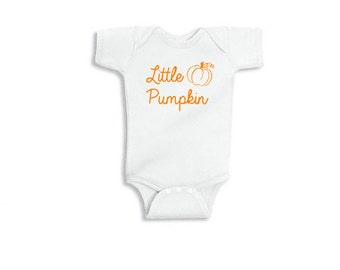 Little Pumpkin - Onesie Bodysuit Creeper *Free Shipping*