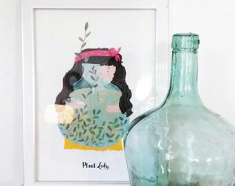 Print- Plant Lady-